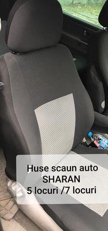 Huse scaun auto SHARAN, TOURAN,stofă auto 5 locuri
