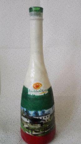 Коледни бутилки
