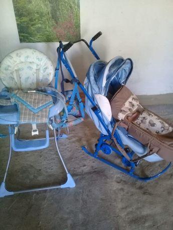 Детский стульчик для кормления и др.