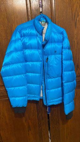 geaca iarna puf down jack wolfskin L model nou
