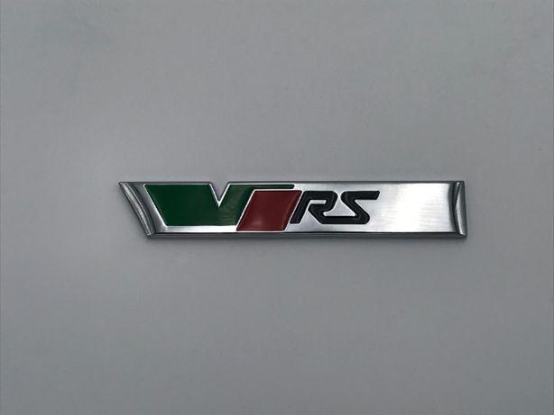 Emblema Skoda VRS spate crom