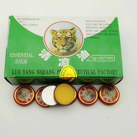 Китайский Тигровый бальзам. Средство от простуды, головной боли.