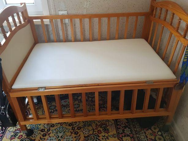 ДетскаЯ кровать б/у в хорошем состоянии