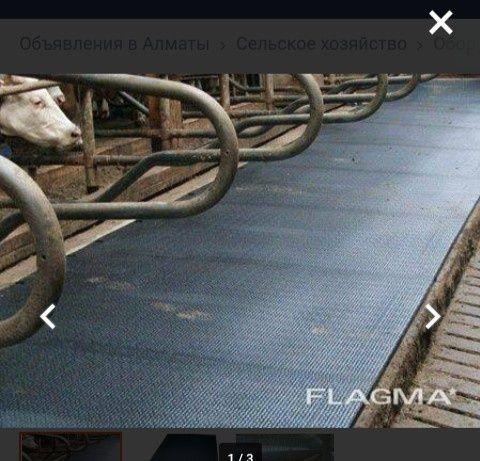 травмобезопасного резиновое плиткы покрытие дляКРСиЛошадей бу от5500