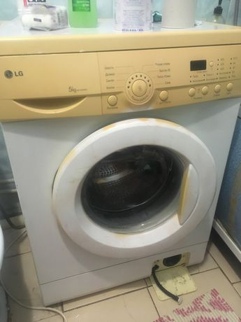 Продам стиральную машинку LG на 5 килограмм