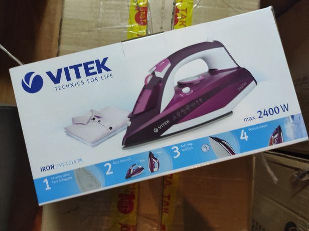 Утюг новый! Vitek 1215 2в1: обычный и паровой ютюг