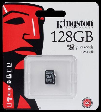 Card memorie Kingston Micro SDXC 128GB Clasa 10, UHS-I, ver G2
