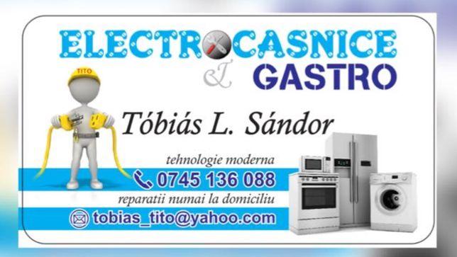 Reparatii frigidere/masini de spalat rufe/cuptoare/hote/aspiratoare ..