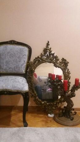 Oglinda de perete cu rama de bronz extaordinara