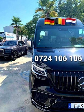 Persoane Auto-Transport ZILNIC-Austria Cehia Olanda Germania Belgia