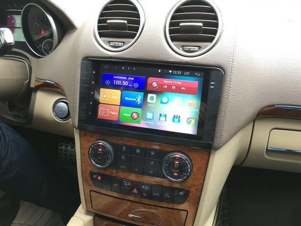 Автомагнитола Android Mercedes ML W164