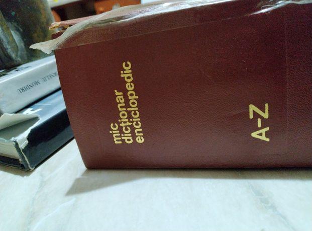 Mic dicționar explicativ și Dicționar al limbii romane contemporane.