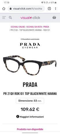Rame ochelari de vedere PRADA