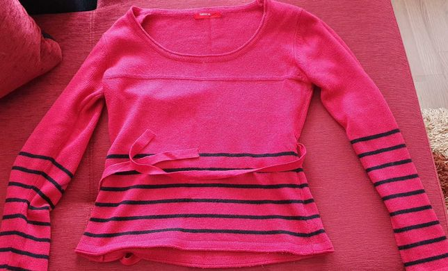 Pulover lana rosu