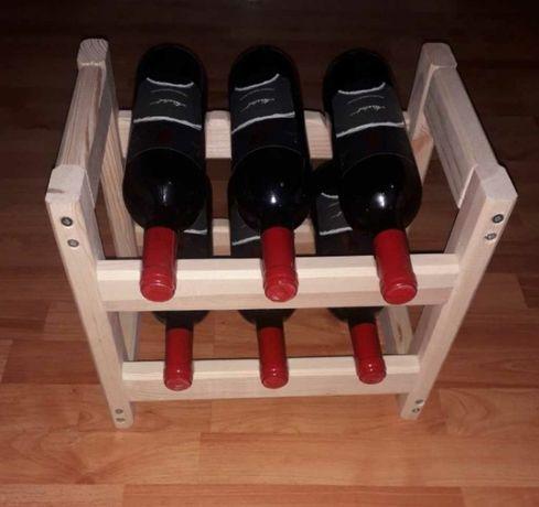Стелаж за вино-6 бр.бутилки