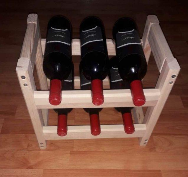 Стелаж за вино-6 бр.бутилки гр. Белослав - image 1