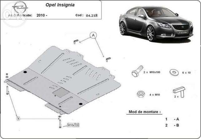 Scut metalic pentru motor Opel Insignia 2009-2017, otel 2mm