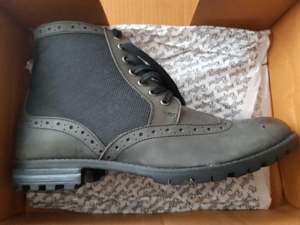 Redfoot ест.кожа нови боти и обувки N44
