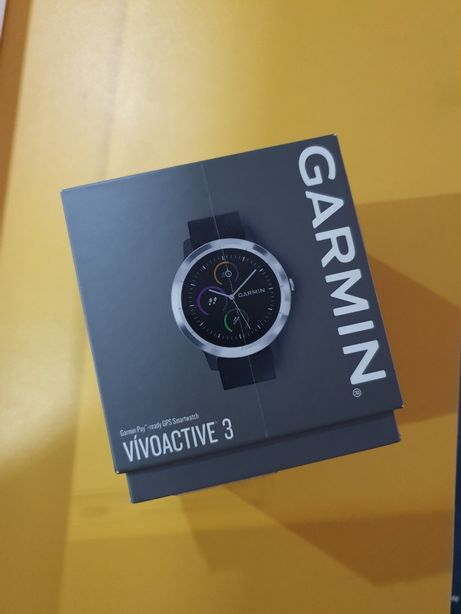 (NOU) Smartwatch GARMIN Vivoactive 3, HR, GPS, Garmin Pay (FULL BOX)