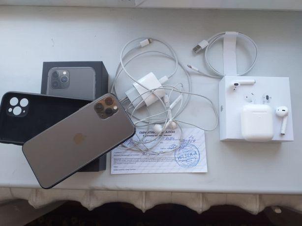 Iphone 11 pro все в наличии 64 гб + airpods