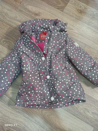 Куртка, р-р 86. Тёплая зима
