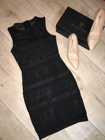 Бандажна рокля, рокля за парти и коктейл, черна рокля