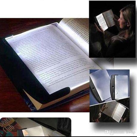 Светещ LED панел за четене на книги