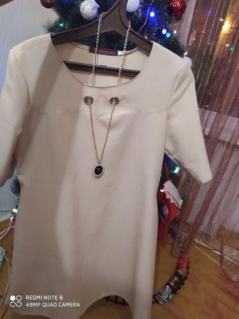Продам платье трапеция 46 размер