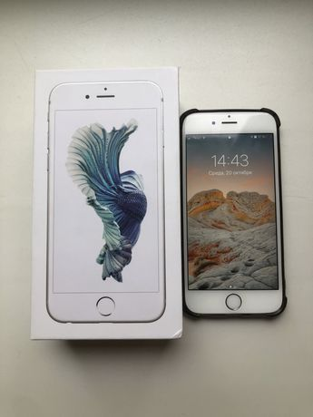 iphone 6s в идеальном состоянии