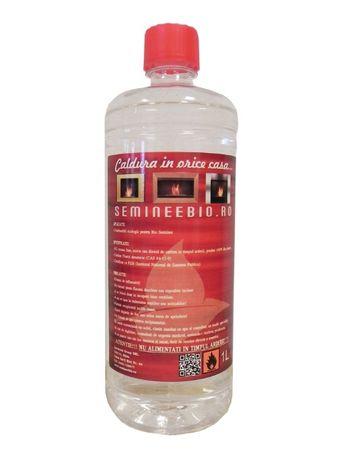 Bioetanol lichid pentru semineu de decor - 1 litru