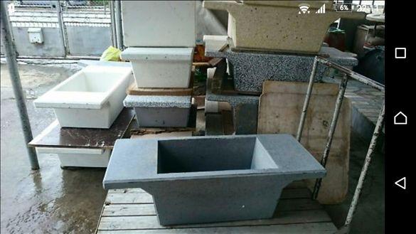 Чешма от бетон