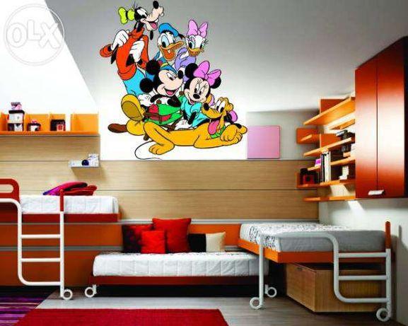 Disney - Mickey si prietenii – stickere perete