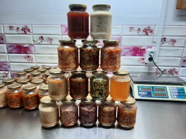 консервы из мяса,рыбы,птицы,кролика,собственное производство,доставка