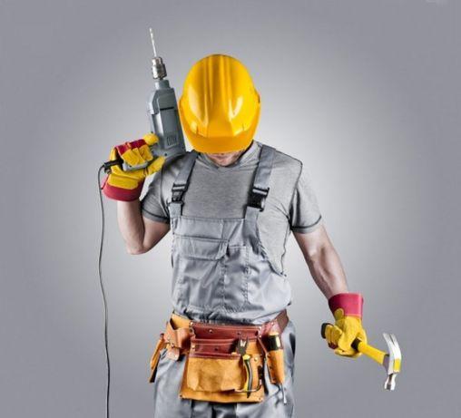 Все виды ремонтно-отделочных работ любой сложности