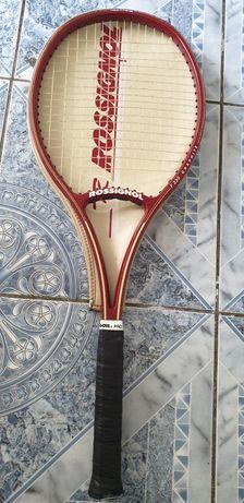 Vand racheta tenis Rossignol F230 graphite made in France +  4 mingii