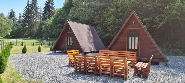 Închiriez 2 cabane tip A cu ciubar ,Moara de Padure-Baisoara