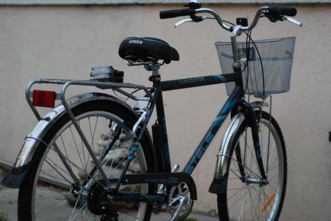 Скоростной велосипед Stels Navigator 250. Новый,гарантия. есть Kaspi