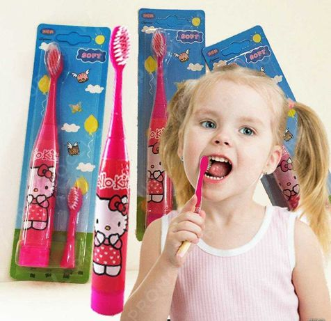 Детска електрическа четка за зъби