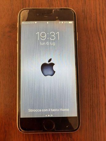 Vand telefon mobil apple, iphone 6, 16 gb, silver, folosit, deblocat