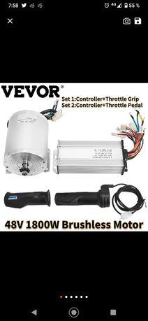 Kit motor Vevor  blcd 48 v 1800 w bicicleta,kart,atv electric