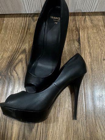 Черные туфли mango