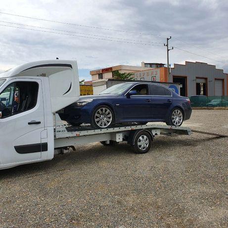 Превоз на леки автомобили от и за Европа