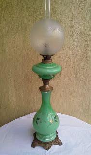 impozanta lampa pe gaz