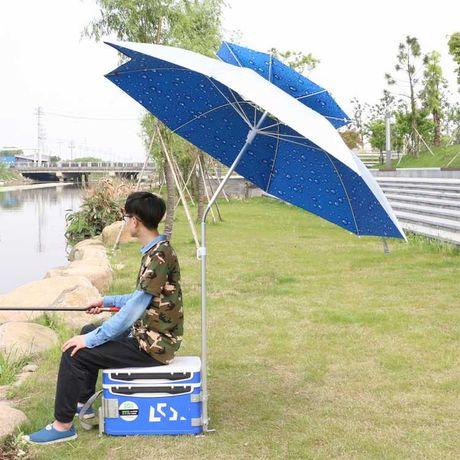 0190 Зонт с клапаном защитой от ветра для туризма рыбалки подарок