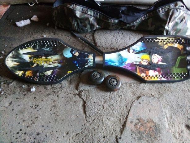 Скейт борд на двух колесах
