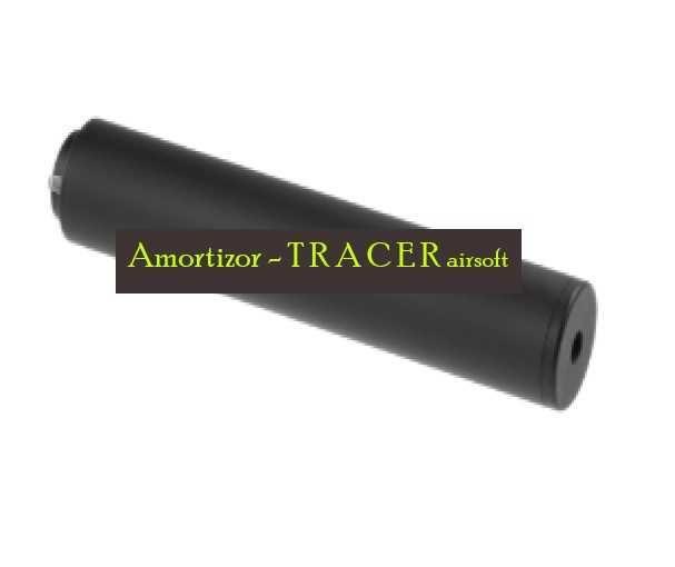 Tracer-amortizor full auto CCW pentru bile fosforescente airsoft