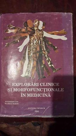 Explorari clinice si morfofunctionale in medicina