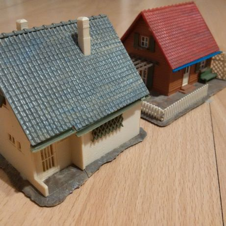 2 case scara HO - Kibri, Faller, Vollmer - Diorama - Superbe