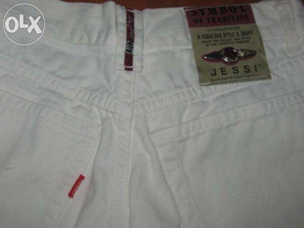pantaloni (blugi albi) firma JESSI Manufactured