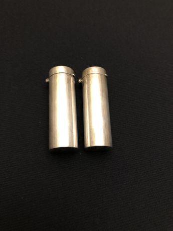 Recipiente pin argint pentru sare si piper